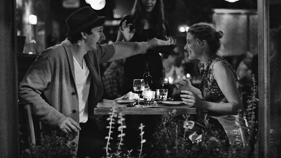 Frances Halladay, right, endures a series of bad dates and thin relationships in the Noah Baumbach film Frances Ha. Via IFC Films.