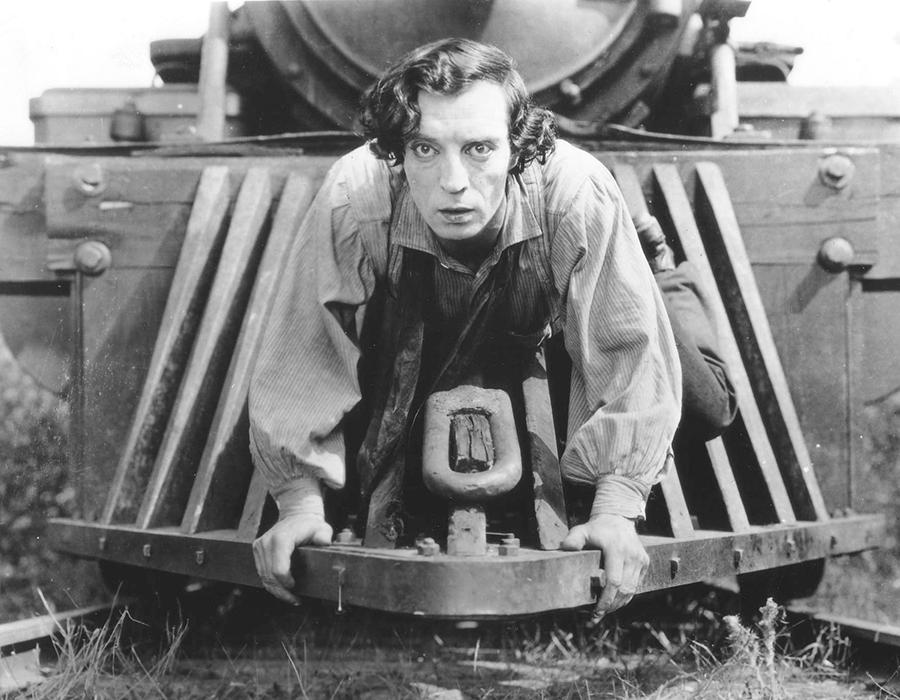 Keaton's The General, via United Artists.