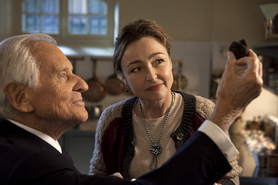 Catherine Frot stars as Hortense in Haute Cuisine, the latest movie about the bittersweet pleasures of French cooking. Via The Weinstein Company.