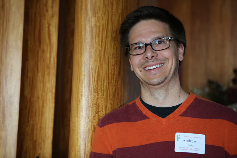 When he's not volunteering for Filmworks, Andrew Ranta enjoys watching horror movies, especially if they're horror movies about horror movies.