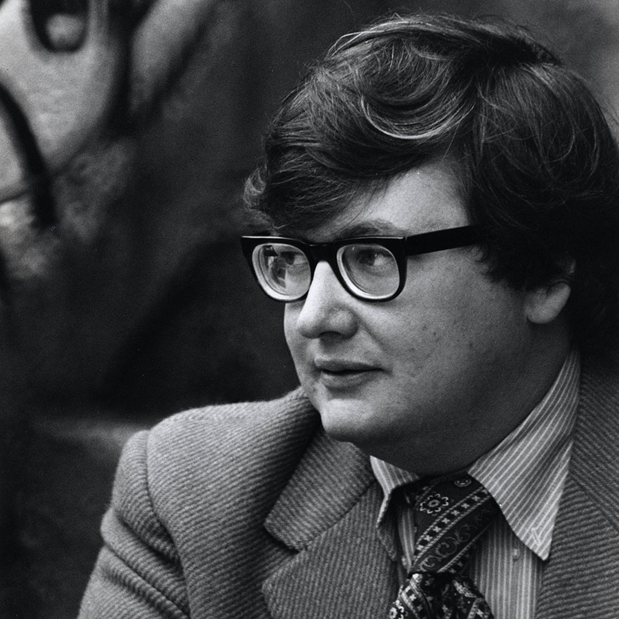 Roger Ebert loved movies. All of them. Even the bad ones. Photo by Art Shay, via Magnolia Pictures.