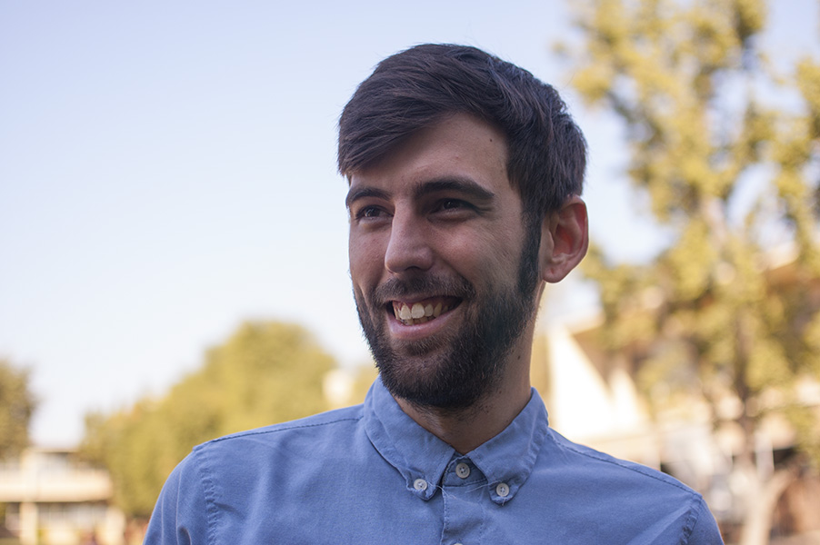 After serving as our marketing intern in fall 2013, Fresno State student Colby Tibbet has continued to volunteer for Filmworks.