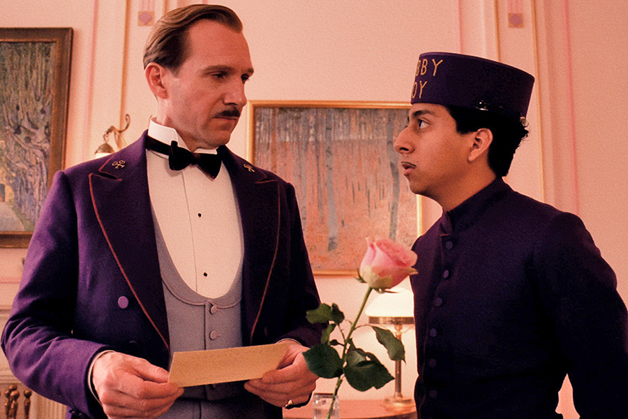 """""""The Grand Budapest Hotel"""" from Wes Anderson. Via Fox Searchlight."""