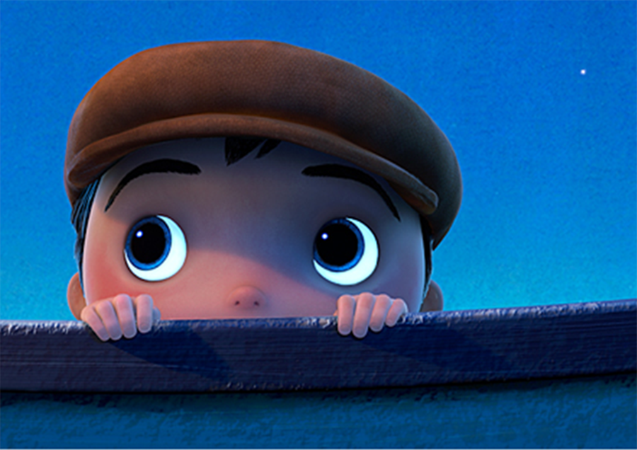"The boy in ""La Luna"" may contain a piece of us all. Via Pixar."