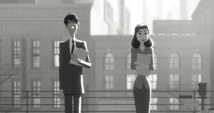 "Oscar-winning short film ""Paperman"" can inspire hope. Via Walt Disney."