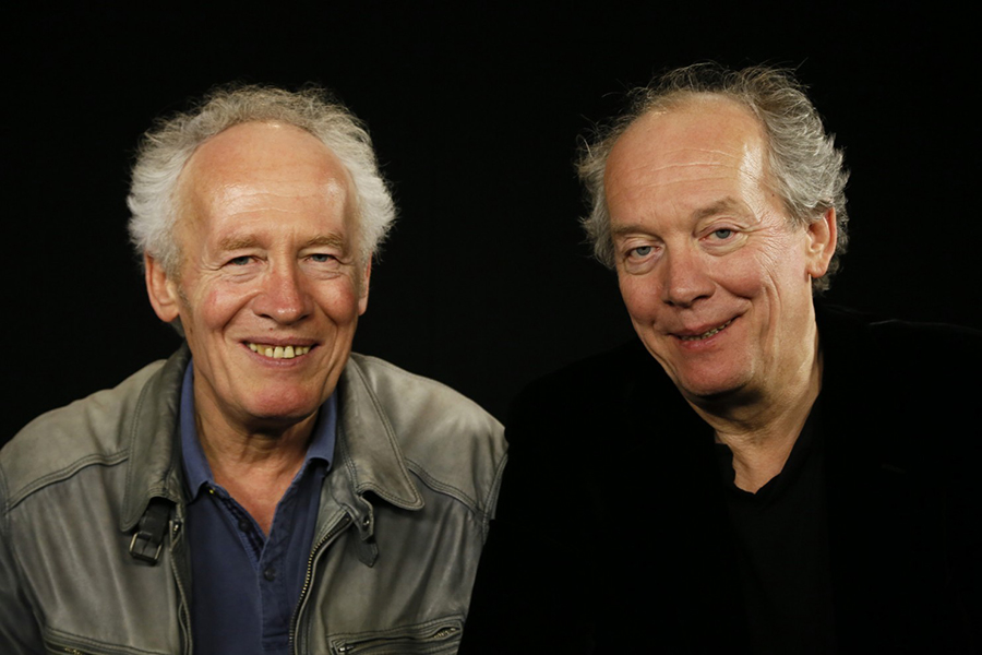 Belgian filmmaking duo Jean-Pierre Dardenne, left, and his brother Luc Dardenne. Via The Washington Post.