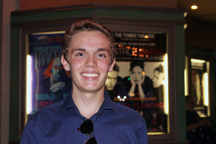 Our October volunteer in the spotlight, Justin Secor, is an outdoors enthusiast and high school film buff.