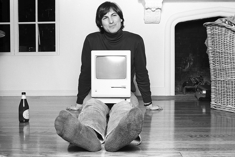 """The late Steve Jobs is once again front and center as a character in Oscar-winning director Alex Gibney's scrutinizing new documentary: """"Steve Jobs: The Man in the Machine."""" Via Magnolia Pictures."""
