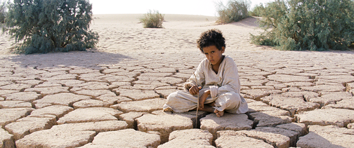 First-time actor and Bedouin youth Jacir Eid plays the title character Theeb in director Naji Abu Nowar's ambitious coming-of-age tale. Via Film Movement.