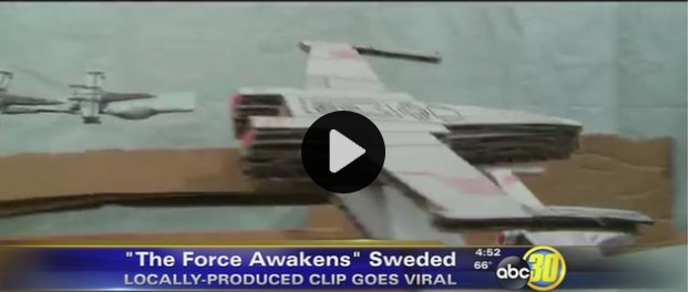 "A local group behind a ""sweded"" version of a 'Star Wars' trailer is getting national attention. (KFSN)"