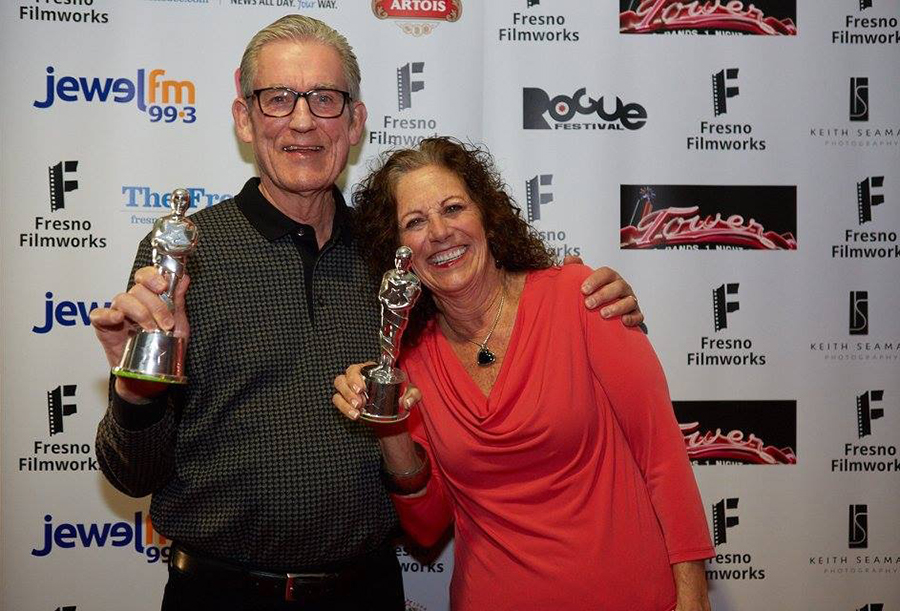 The Academy would like to congratulate volunteers Conde and Ann McGowan on their good work for Filmworks.