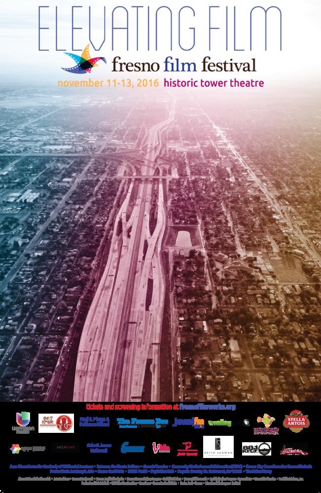 poster for 2016 fresno film festival