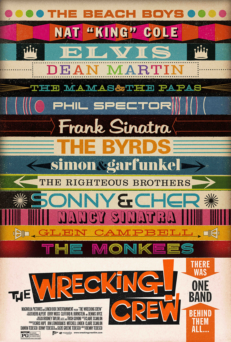 theatrical poster for wrecking crew