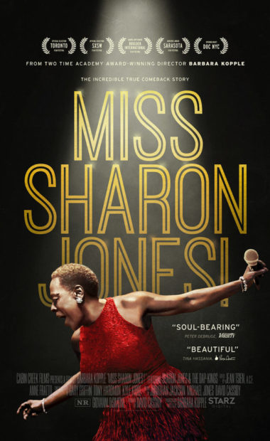 theatrical poster for Miss Sharon Jones!