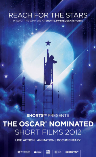 poster for the oscar nominated short films 2012