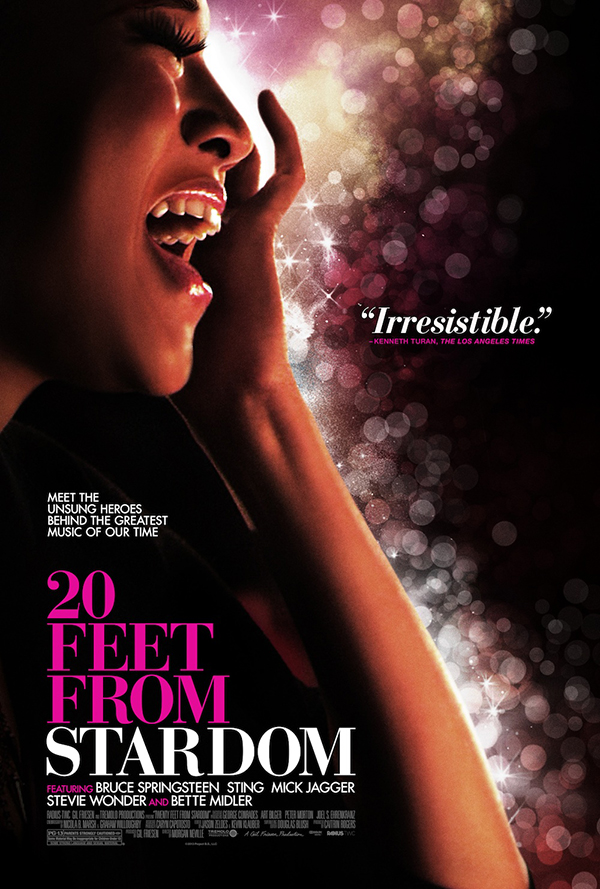 theatrical poster for 20 feet from stardom