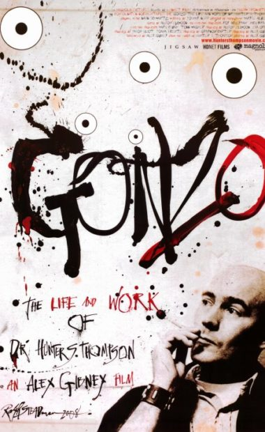theatrical poster for gonzo
