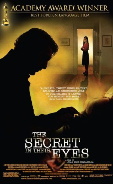 theatrical poster for the secret in their eyes