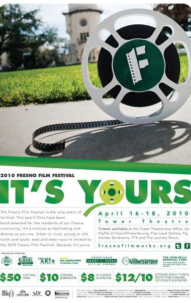 poster for 2010 fresno film festival