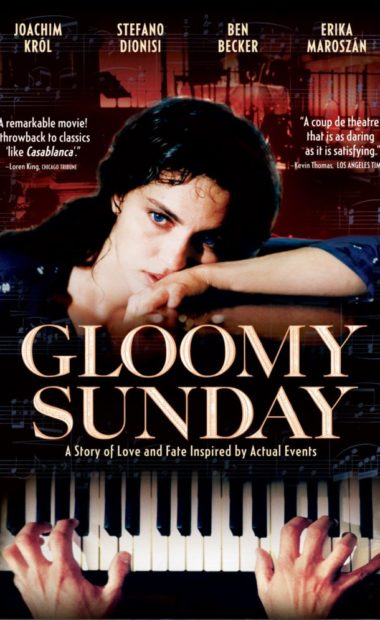 theatrical poster for gloomy sunday