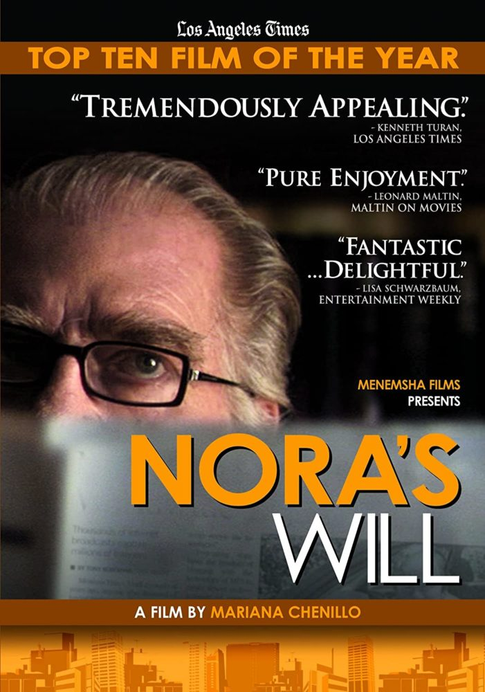 theatrical poster for Nora's Will