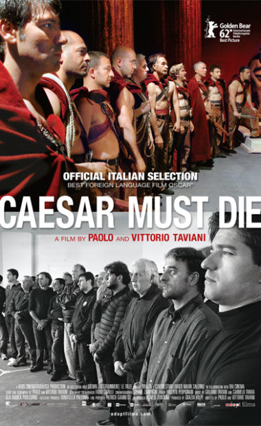 theatrical poster for caesar must die