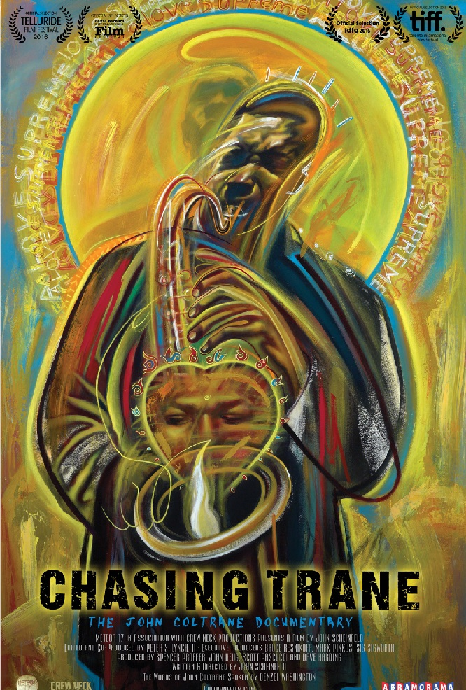 theatrical poster for chasing trane