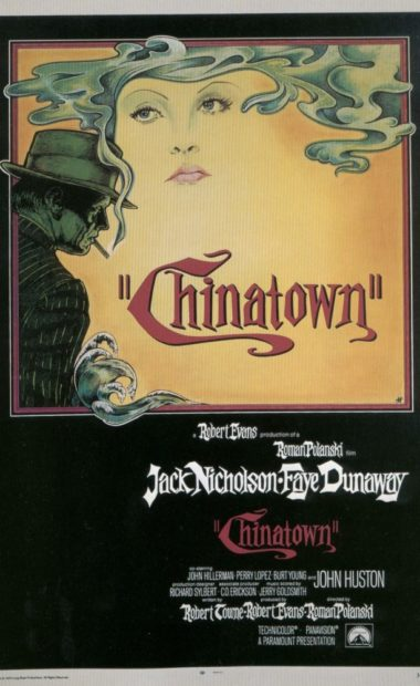 theatrical poster for chinatown