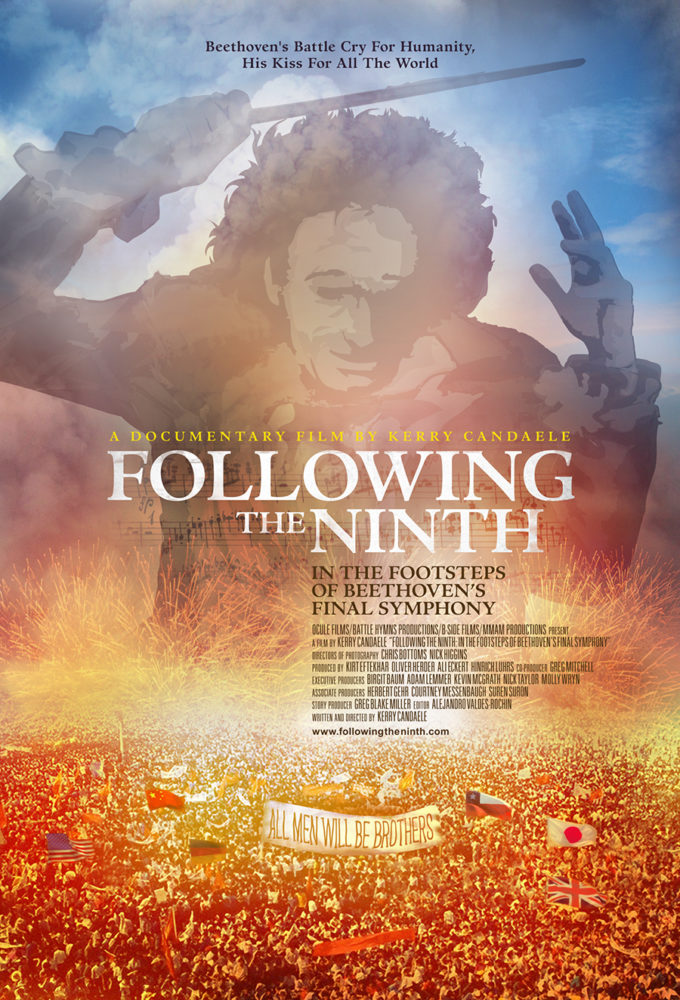 theatrical poster for following the ninth
