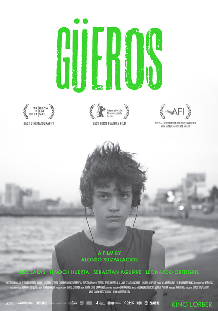 theatrical poster for Güeros