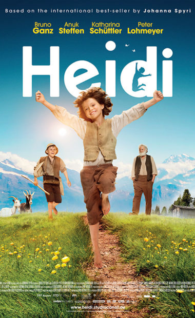 theatrical poster for heidi