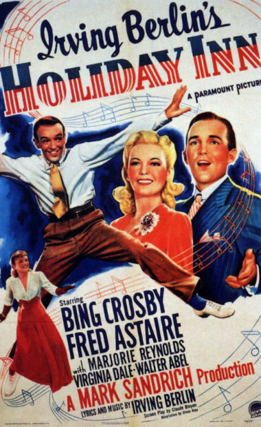 theatrical poster for Holiday Inn
