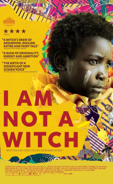 theatrical poster for i am not a witch