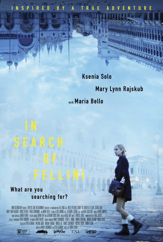theatrical poster for in search of fellini