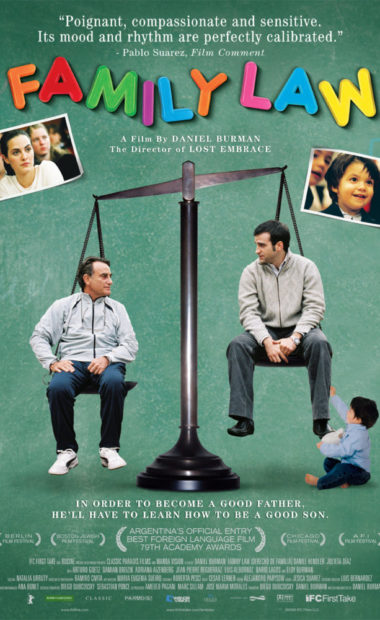 theatrical poster for family law