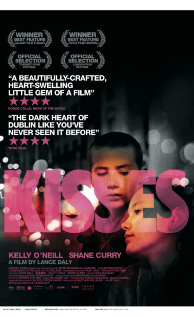 theatrical poster for kisses
