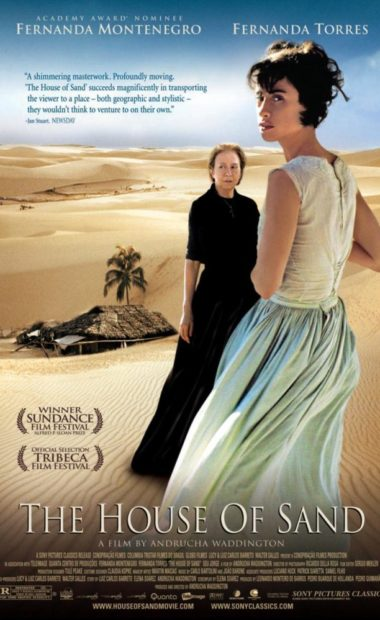 theatrical poster for the house of sand