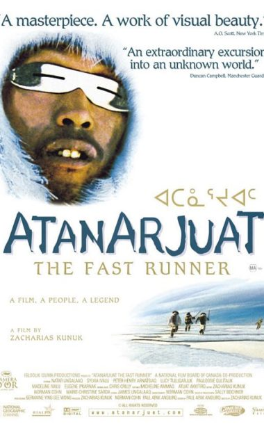 Theatrical poster for Atanarjuat (The Fast Runner)
