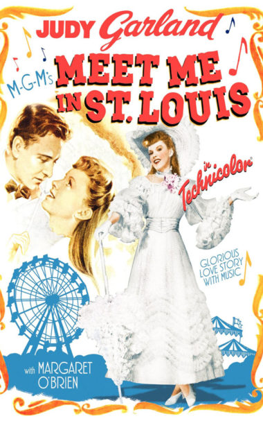theatrical poster for meet me in st louis