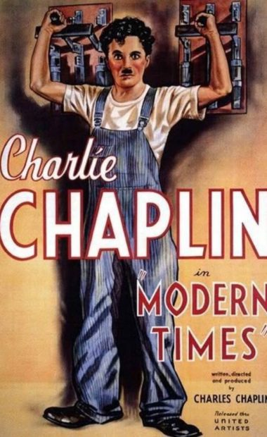 theatrical poster for modern times