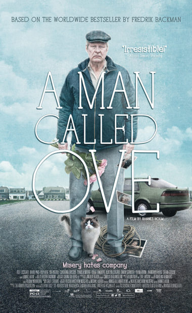 theatrical poster for a man called ove