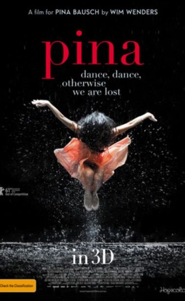 theatrical poster for Pina