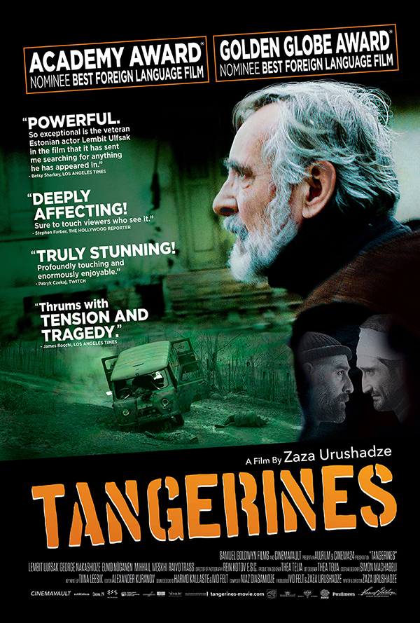 theatrical poster for tangerines