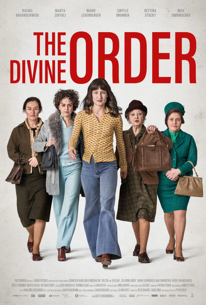 theatrical poster for the divine order
