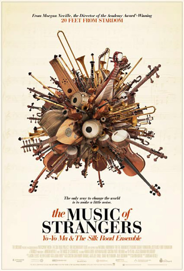 theatrical poster for the music of strangers