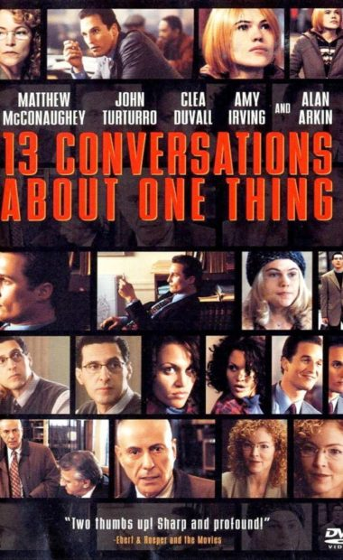 Theatrical poster for 13 Conversations About One Thing