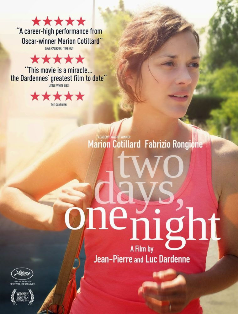 theatrical poster for two days, one night