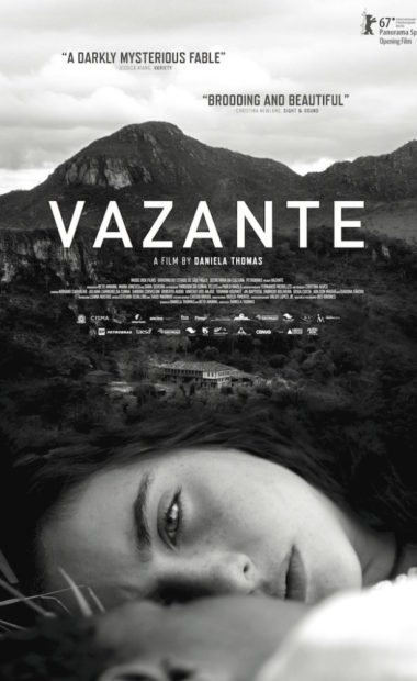 theatrical poster for vazante
