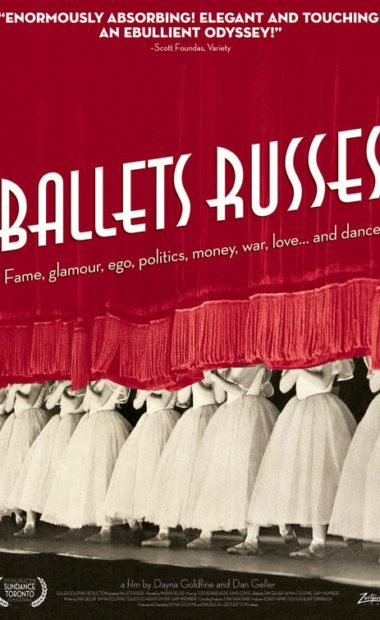 theatrical poster for ballets russes