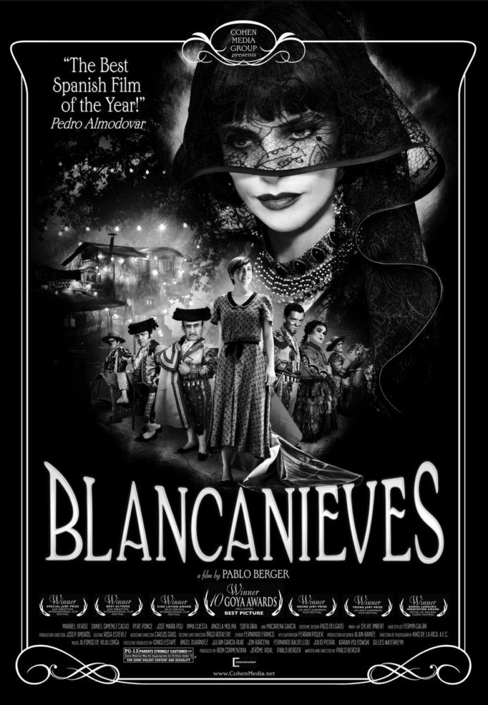 theatrical poster for blancanieves